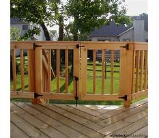 How to build a wooden pool gate Plan