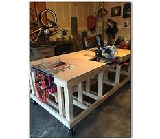 How to build a woodworkers workbench plans Plan