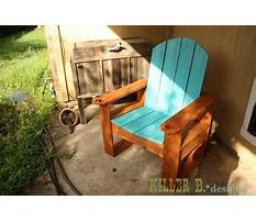 How to build an adirondack chair home depot.aspx Plan