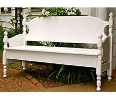 How to build bench from bed Plan