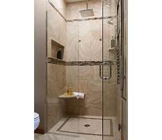 How to build bench in tile shower Plan