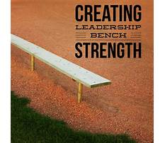 How to build bench strength in business Plan