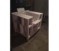 How to build bookshelf chair Plan