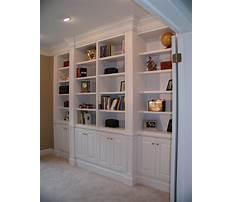 How to build bookshelves for living room Plan