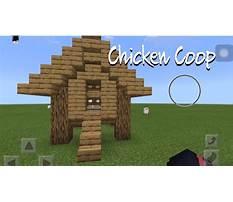 How to build chicken coop minecraft Plan