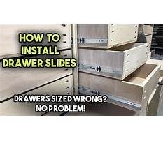 How to build dresser with wooden runners.aspx Plan