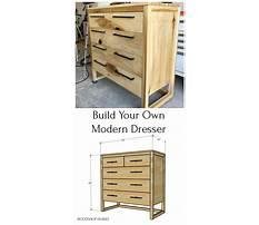 How to build easy dresser.aspx Plan