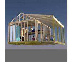 How to build gable end walls with your garden storage shed plans video Plan