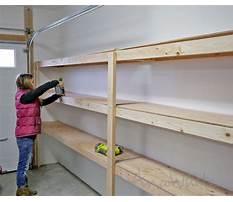 How to build garage shelves youtube Plan