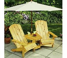 How to build outdoor furniture.aspx Plan