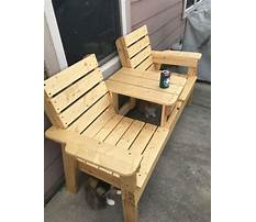 How to build outside chair Plan