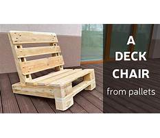 How to build pallet furniture youtube Plan