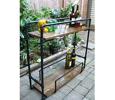 How to build patio furniture carts Plan