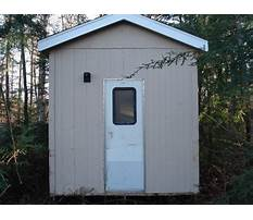 How to build the best outhouse Plan