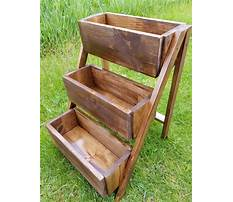 How to build tiered planter box Plan