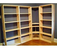 How to build wall to wall bookcases Plan