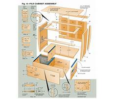 How to build wood file cabinets Plan