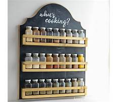 How to build wood spice rack Plan