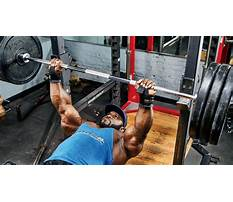 How to build your bench press max Plan