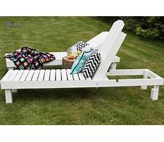 How to build your own chaise lounge Plan