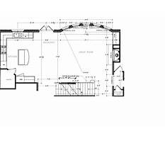 How to draw a fireplace in plan view Plan