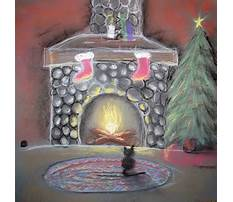 How to draw simple christmas picture Plan