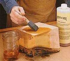 How to keep bark on woodworking projects Plan