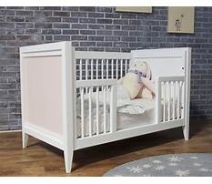 How to make a crib bed Plan