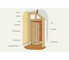 How to make a door into a wall Plan