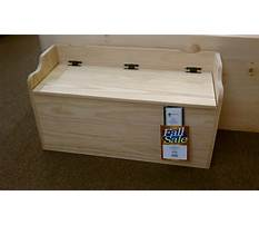 How to make a handmade toy chest Plan