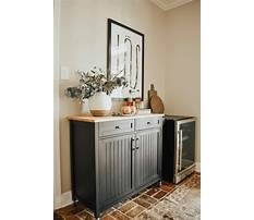 How to make a home bar cabinet Plan