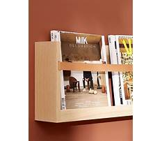 How to make a magazine rack for a wall Plan