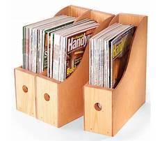 How to make a magazine rack holder Plan
