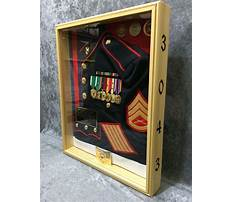 How to make a military shadow box retirement shadow boxes Plan