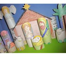 How to make a nativity scene out of popsicle sticks Plan