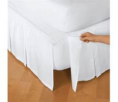 How to make a queen size box pleated bed skirt Plan