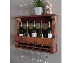 How to make a recycled wine rack Plan
