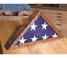 How to make a shadow box display case Plan