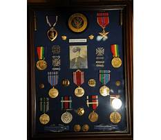 How to make a shadow box display for a wwii Plan