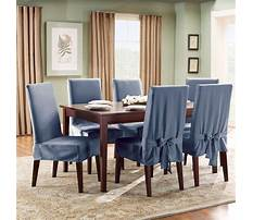 How to make a slipcover for a dining room chair Plan