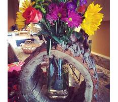 How to make a tree trunk vase Plan
