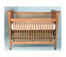 How to make a wood baby crib Plan