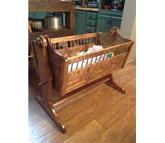 How to make a wooden baby crib Plan