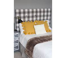 How to make an upholstered bed headboard Plan