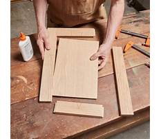 How to make cabinet doors without dado Plan