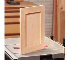 How to make cabinet doors wood Plan