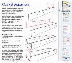 How to make casket handles Plan