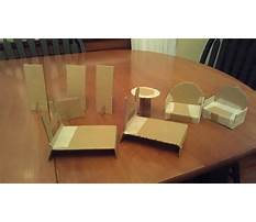 How to make chair model Plan