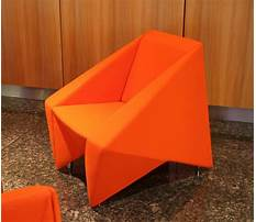 How to make chair origami Plan