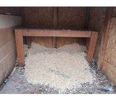 How to make chicken coop less smelly Plan